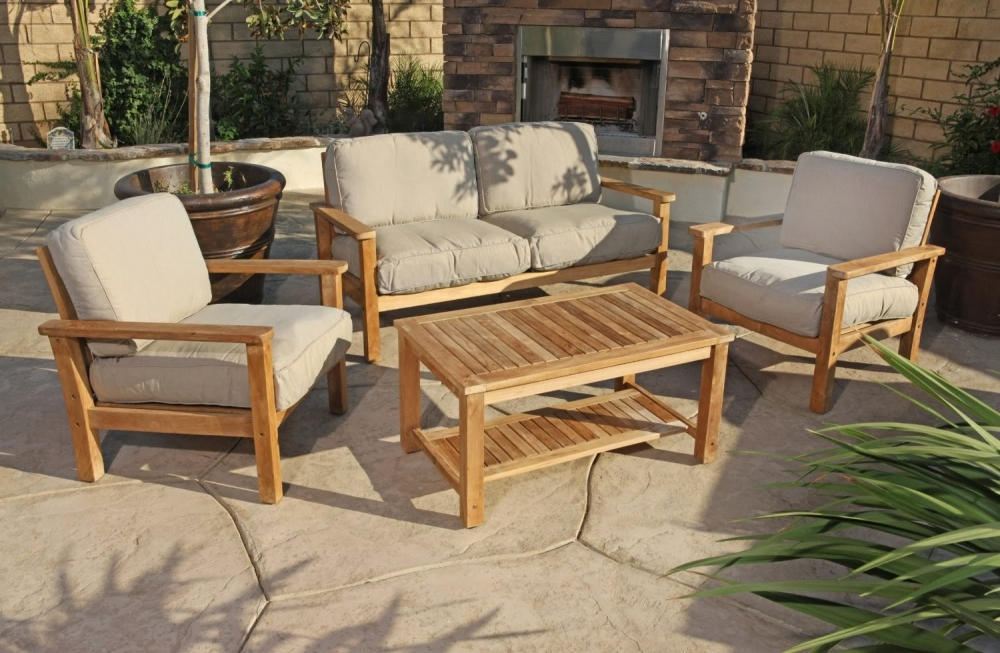 Teak Sofa Set Cairo