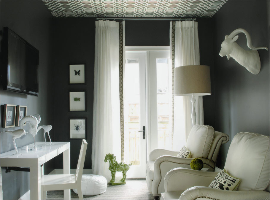 Affordable Sheer With High Ceiling Curtains.