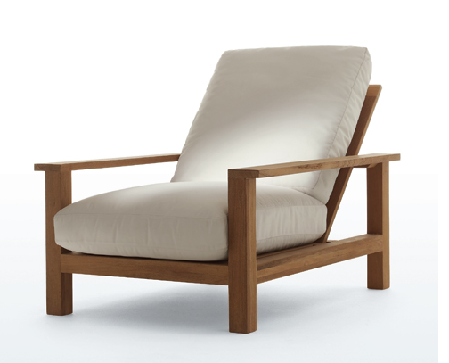 Teak Wood Lounge Chair Chicago